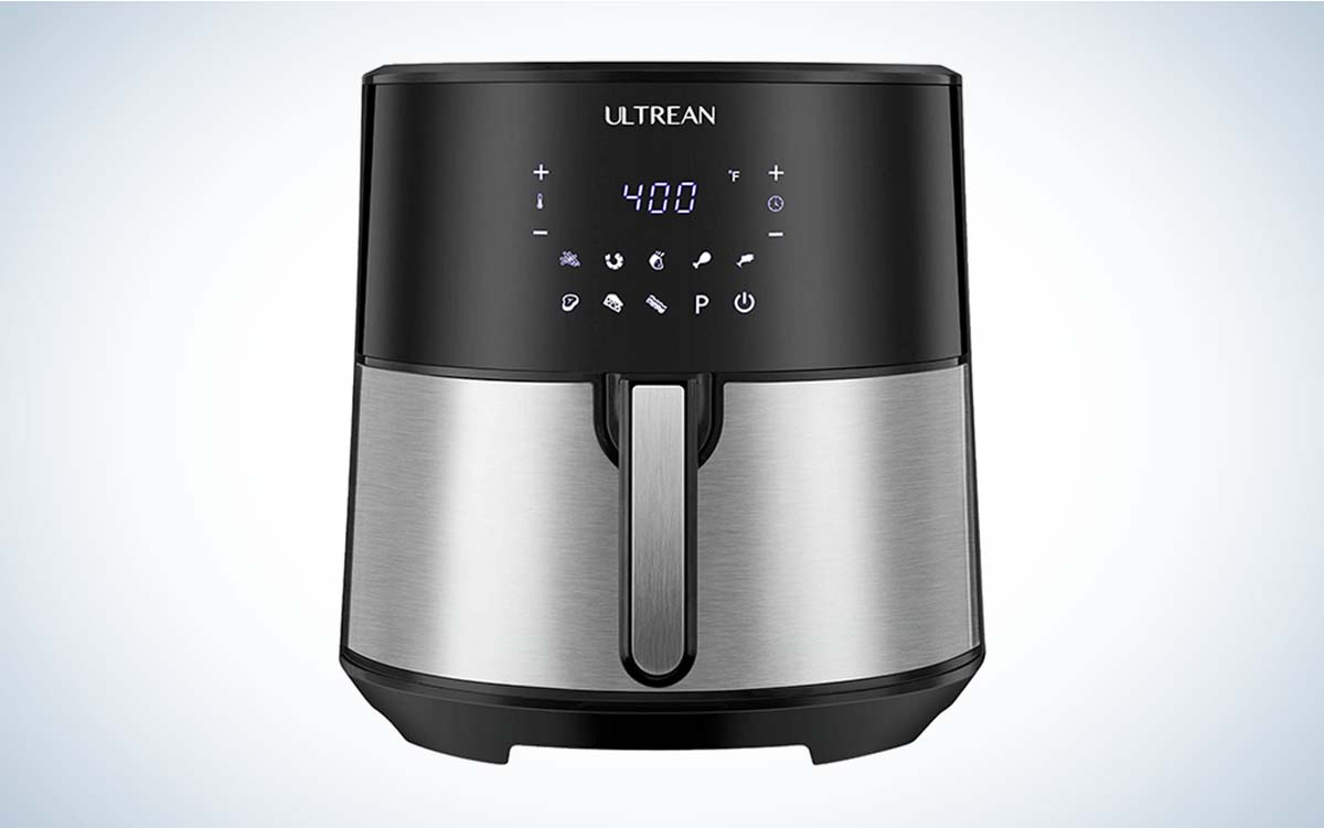 The Ultrean 8-Quart Air Fryer is the best for groups.