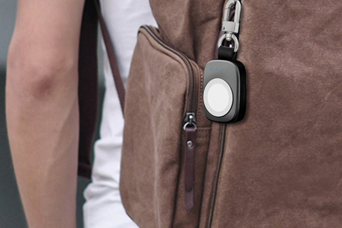 Lock on backpack