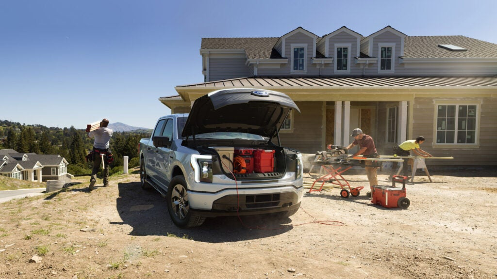 The Ford F-150 Lightning is an electric vehicle for truck lovers
