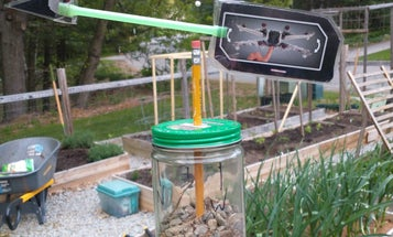 Make your own weather station with recycled materials