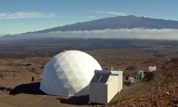 These astronauts are preparing for life on Mars by living in Hawaiian lava tubes