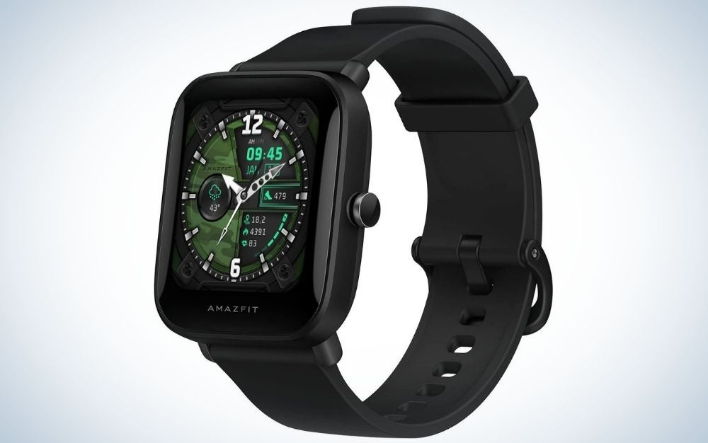 Amazfit Bip U Pro bluetooth smartwatch is one of the best budget smartwatch models