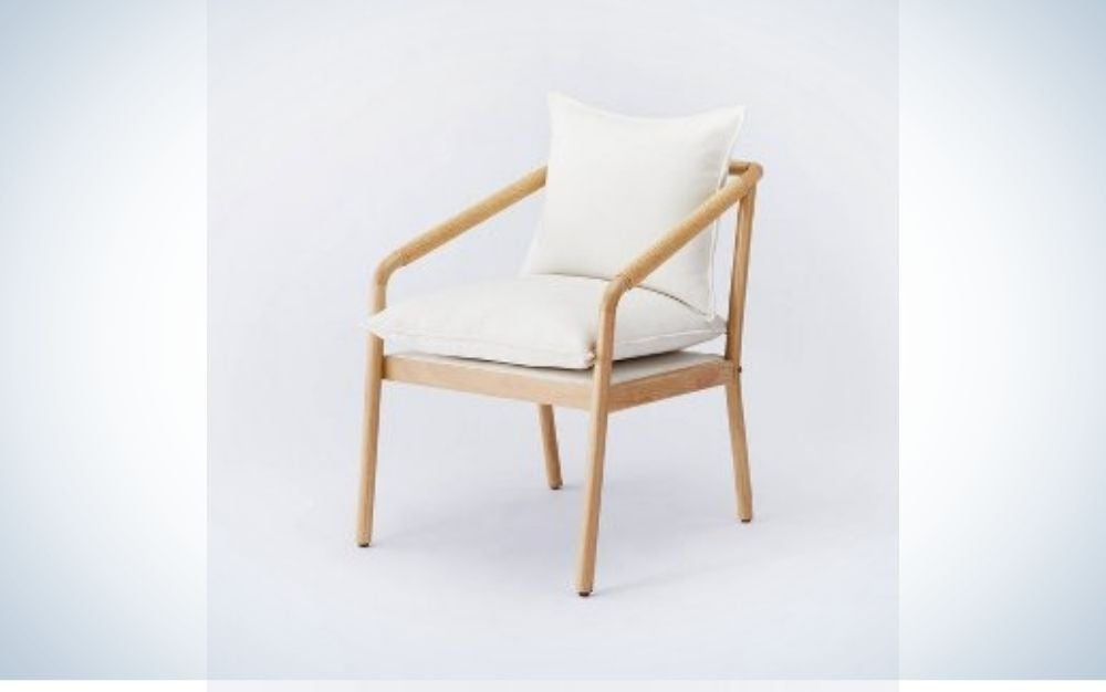 Target white chair for Memorial Day sales