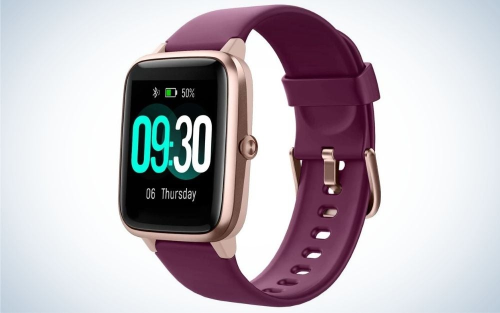 Willful smartwatch for is one of the best fitness trackers and hear rate monitor