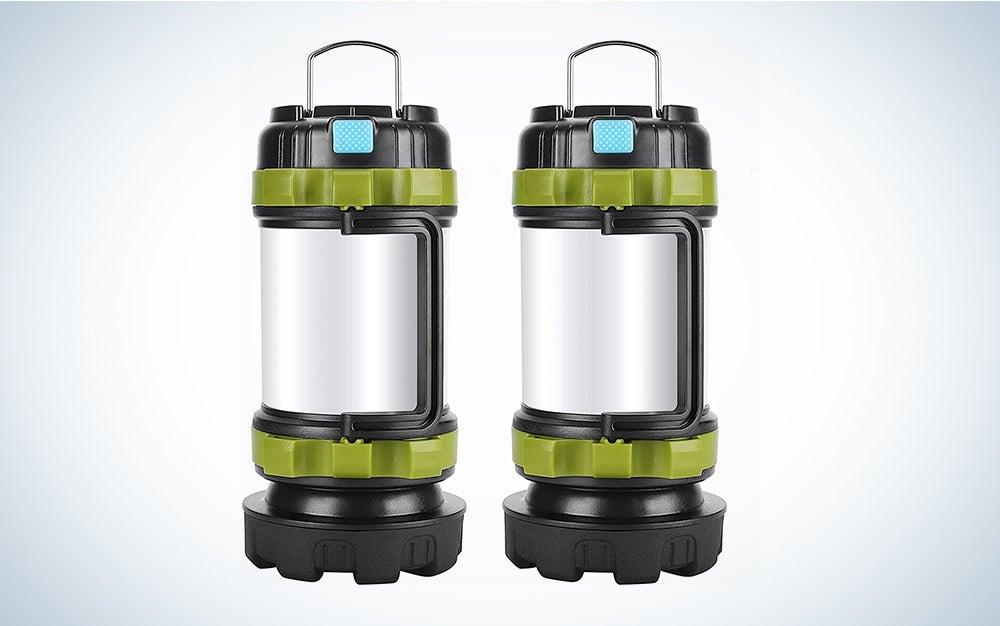 two camping lanterns prime day