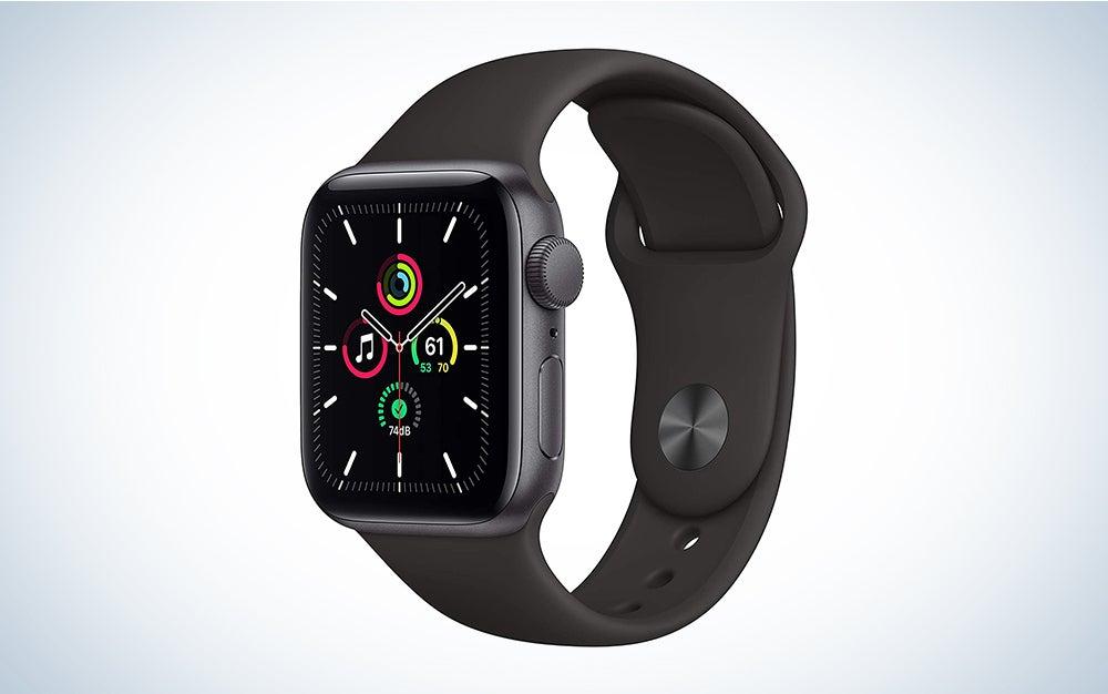 Apple Watch SE in black