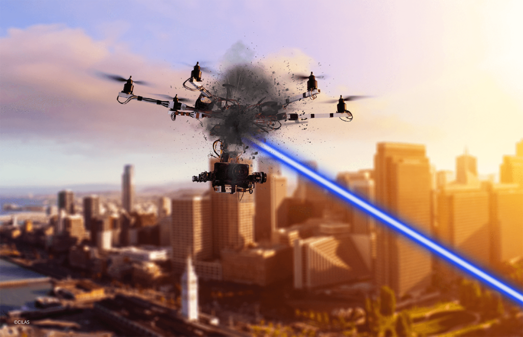 Watch this French laser zap drones out of the sky