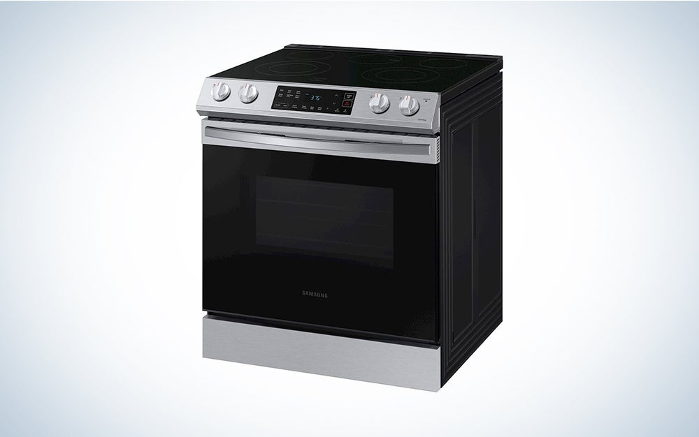 silver and black samsung oven memorial day deal
