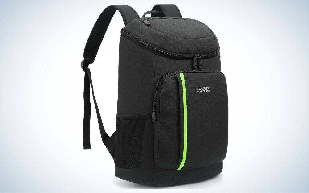 Black TOURIT cooler backpack is one of the best coolers