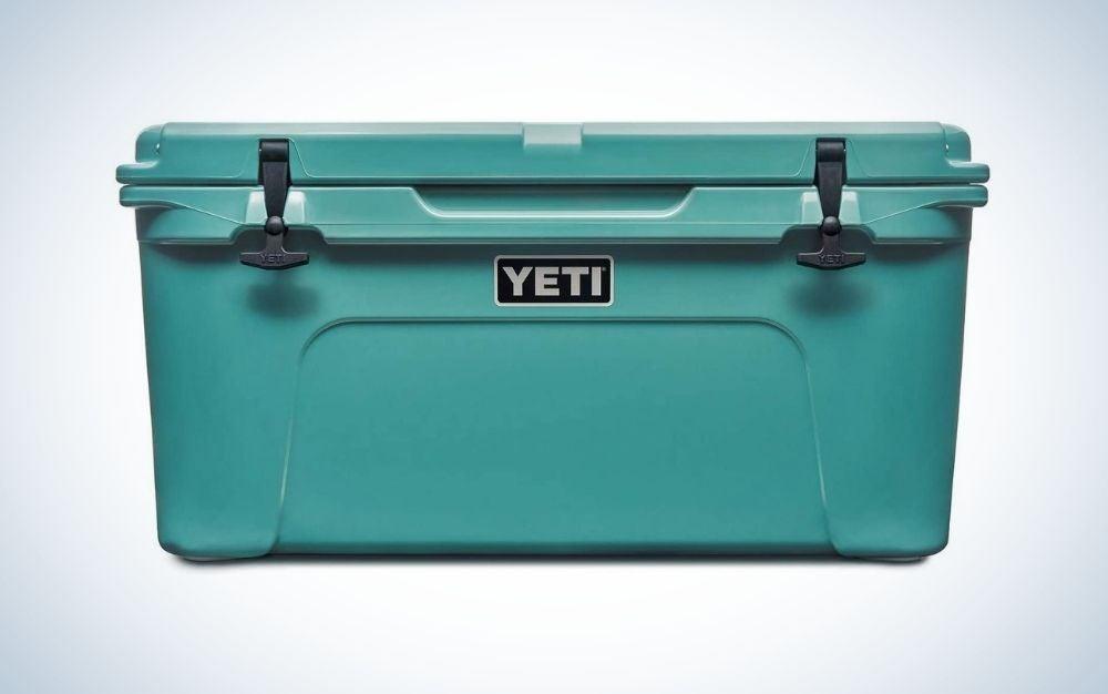 Aquifer blue YETI cooler