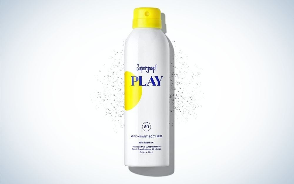 Supergoop! best sunscreen to spray