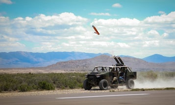 The Army's launching drones from dune buggies. Here's why.