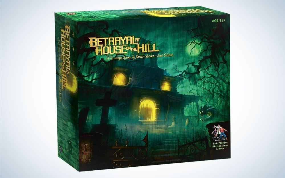 Betrayal at House on the Hill family board game for 6 players