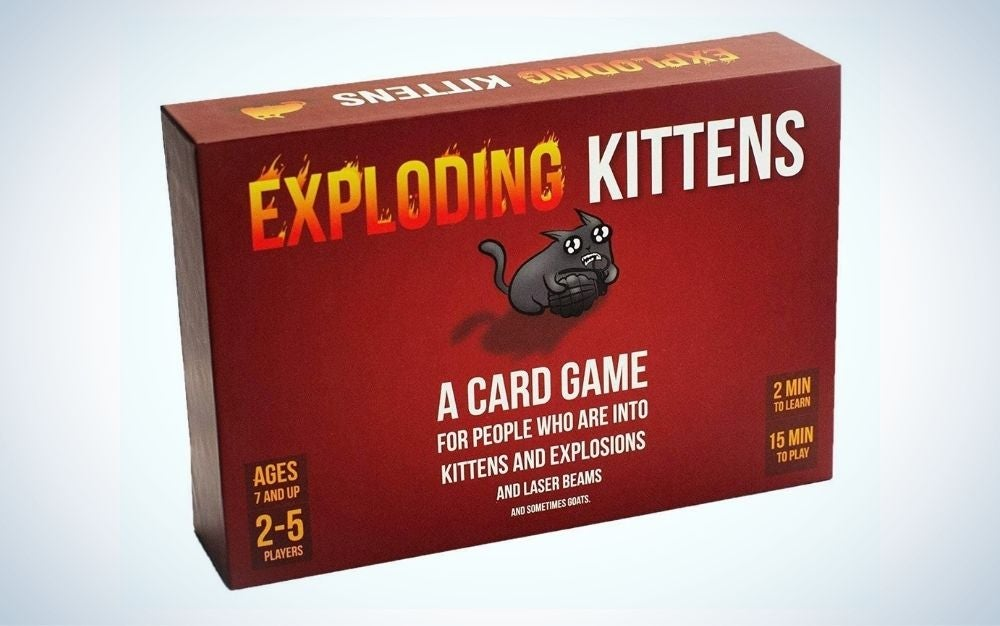 Exploding Kittens family board game for 2-5 people