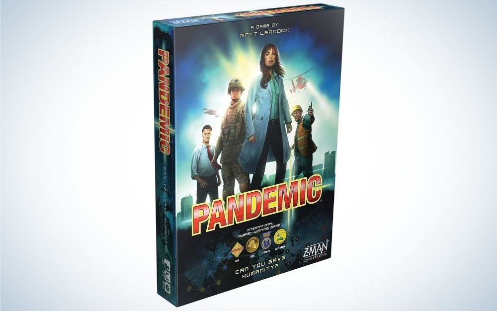 Pandemic family strategy board game for 2-4 players