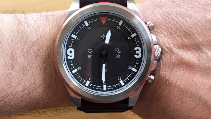 Fossil Latitude Hybrid HR smartwatch