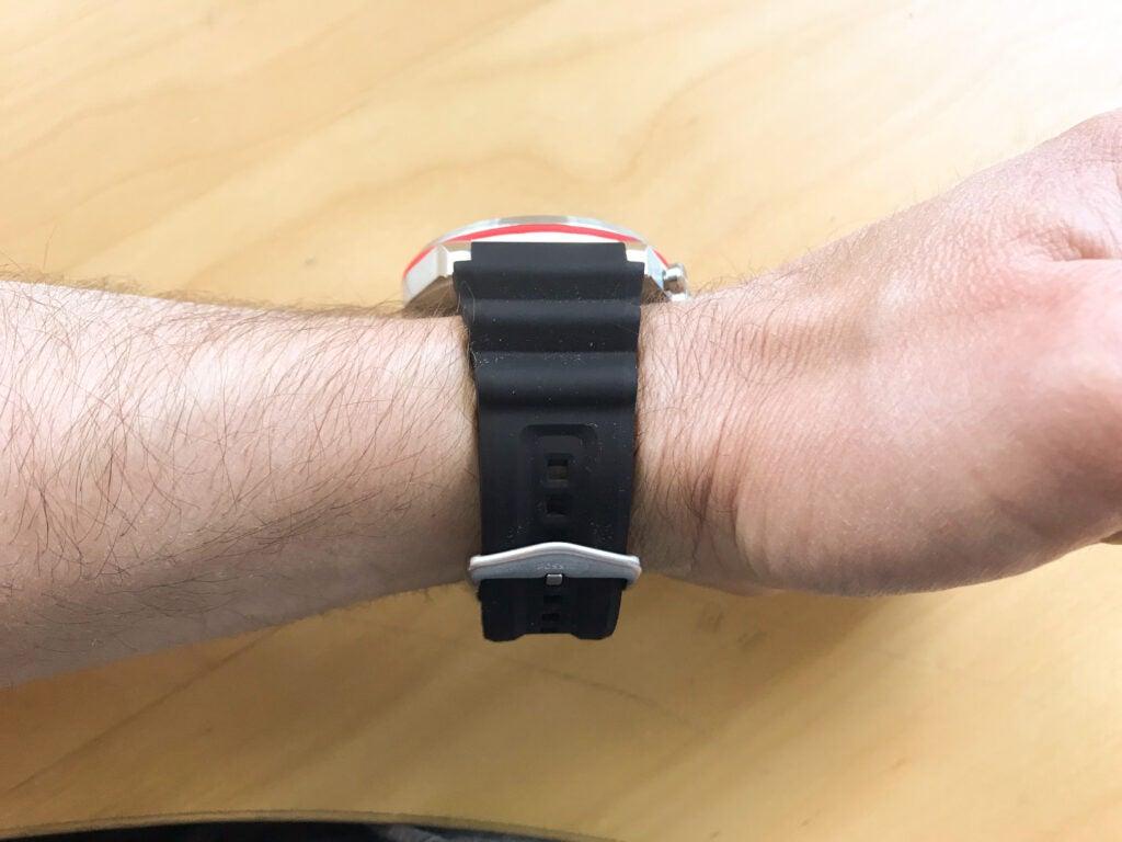 Fossil Lattitude Hybrid HR smartwatch