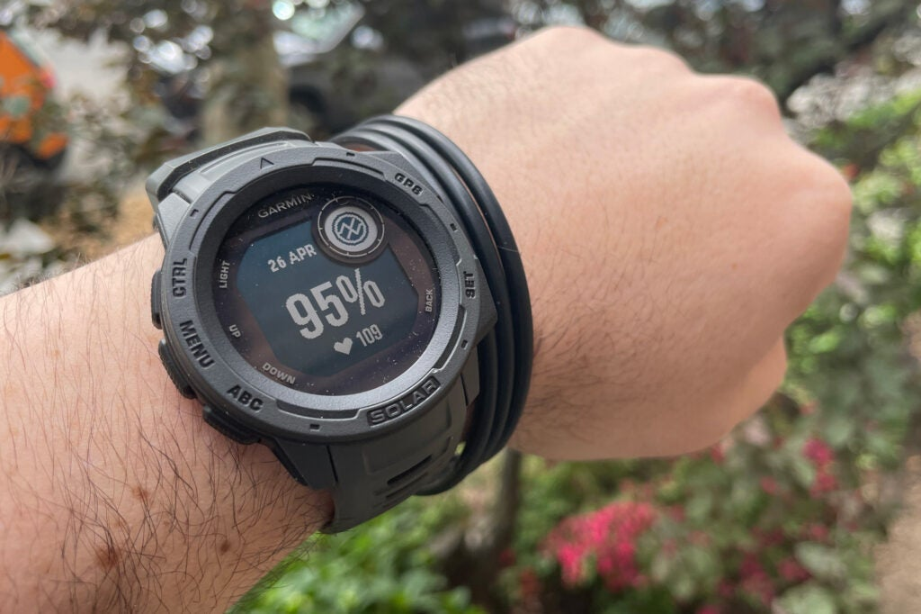 Garmin Instinct Solar fitness watch