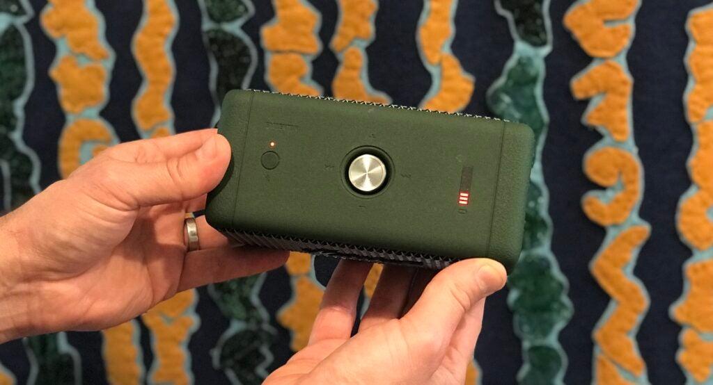 Green Marshall Emberton Bluetooth speaker