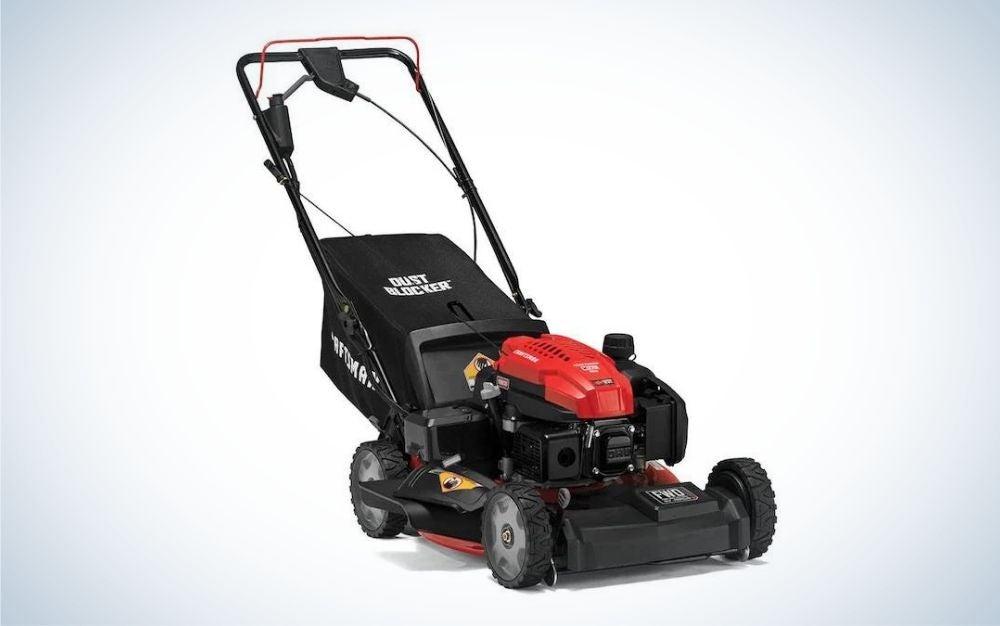 A Craftsman lawn mower