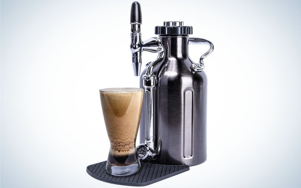 Stainless steel, nitro cold brew coffee maker