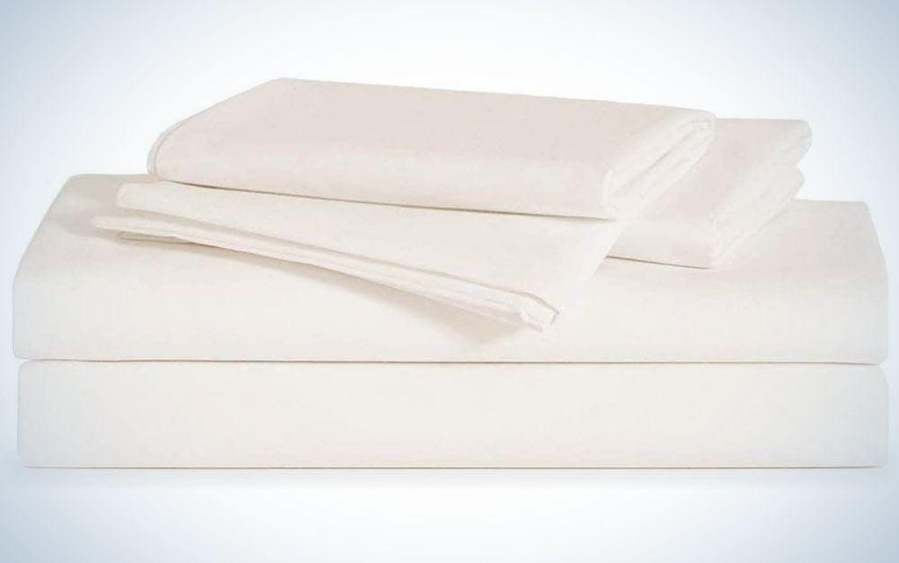 Brooklinen Linen Core Sheet Set makes the best linen sheets.