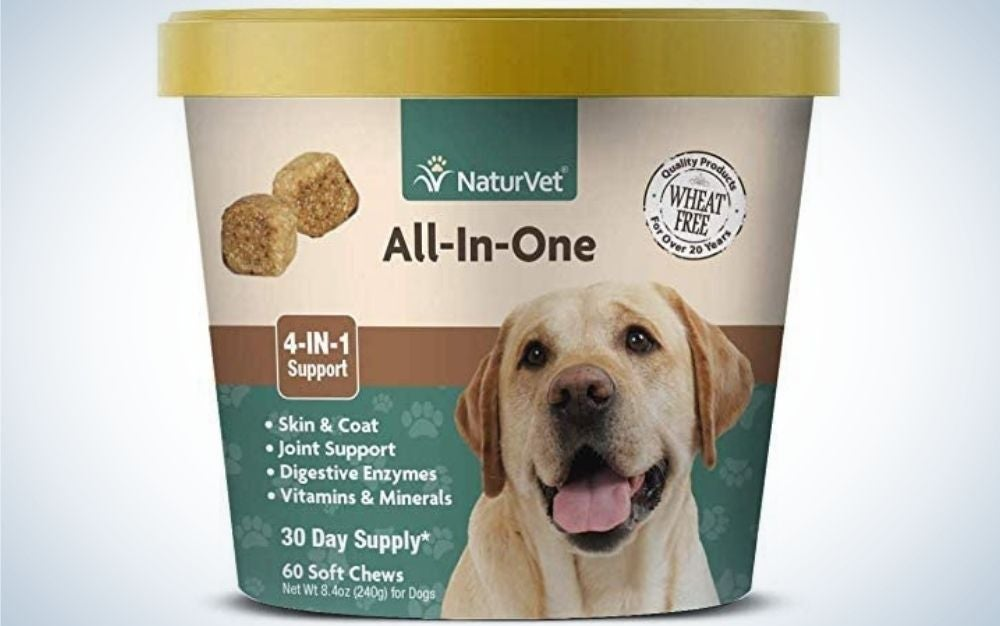 naturvet is the best all in one dog supplement