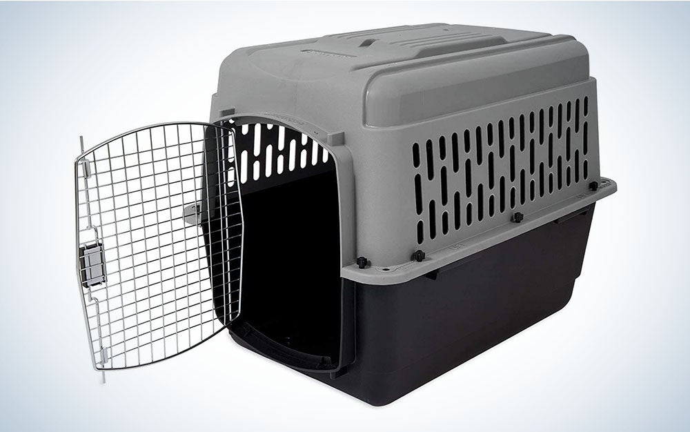 The Aspen Pet Porter Travel Kennel is the best plastic dog crate.