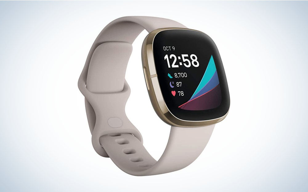 The Fitbit Sense is the best fitness tracker on our guide to the best waterproof smartwatches.
