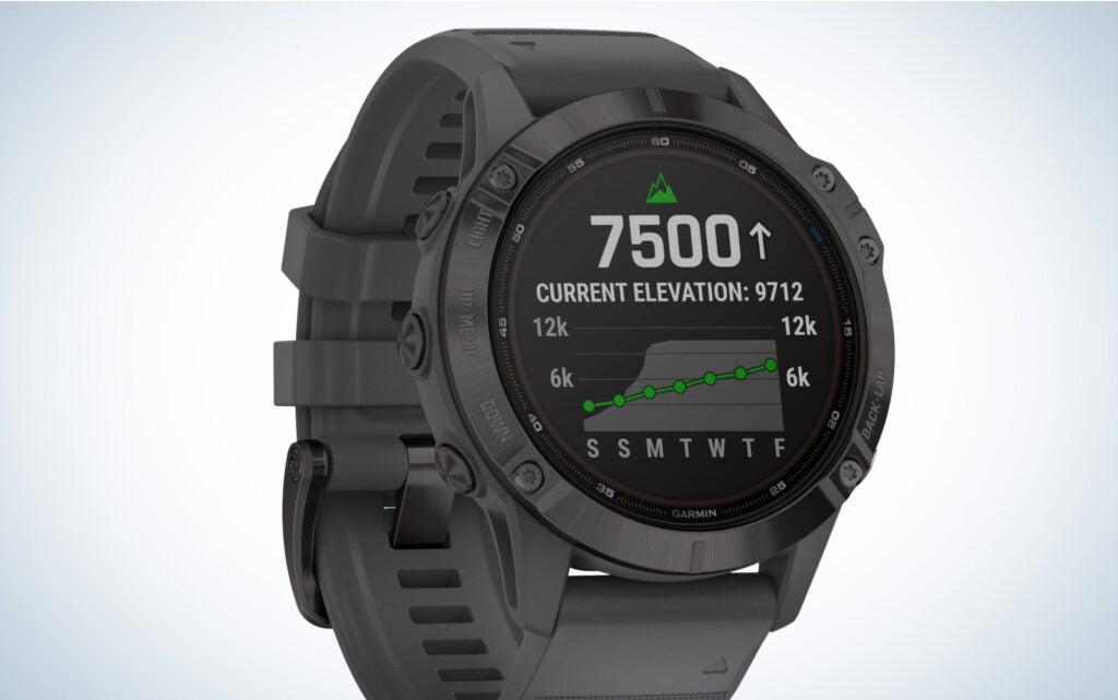 Garmin Fenix 6 high-end smartwatch
