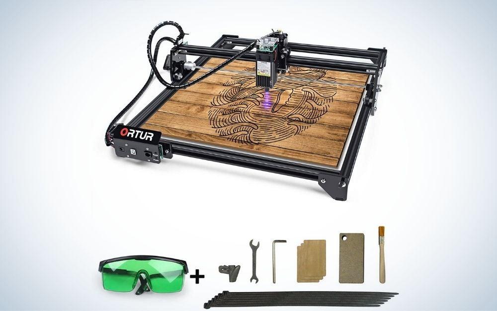 The ORTUR Laser Master 2 CNC Laser Engraver