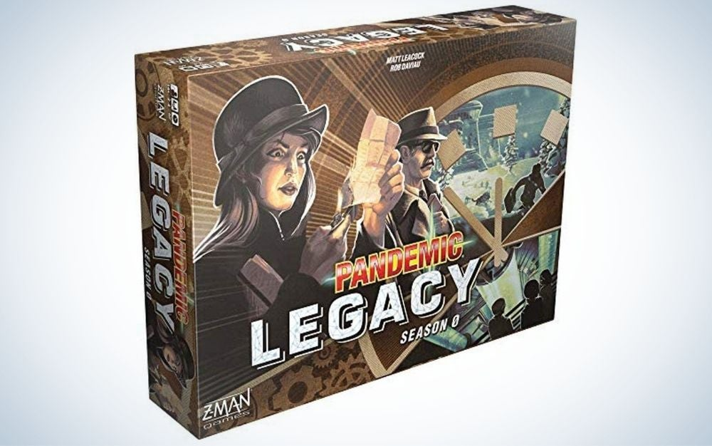 Pandemic Legacy family board game for 2-4 players father's day gift