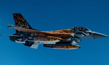 European fighter jets are making a diplomatic statement with their tiger print