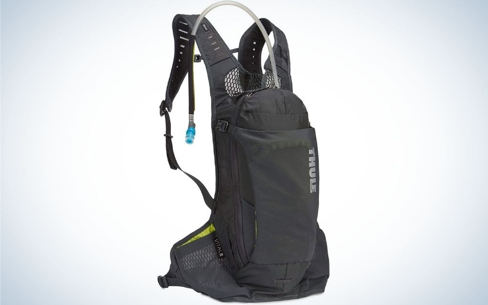 The Thule Vital 6 Hydration Pack is the best hydration pack for bikers and cyclists.