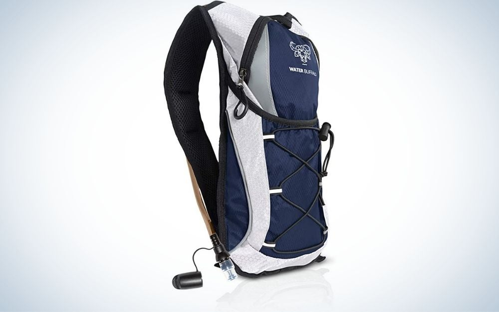 The Water Buffalo Hydration Pack is the budget pick for best hydration pack.