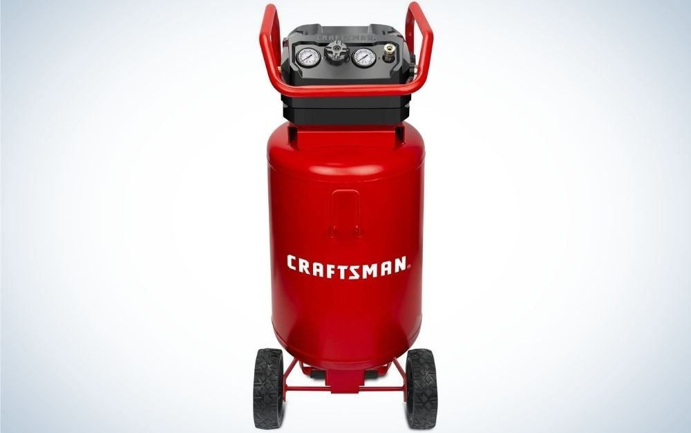 Craftsman air compressors are the best air compressor for a home shop.