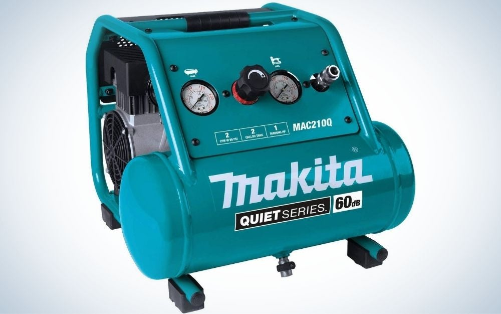 The makita is the overall best air compressor.