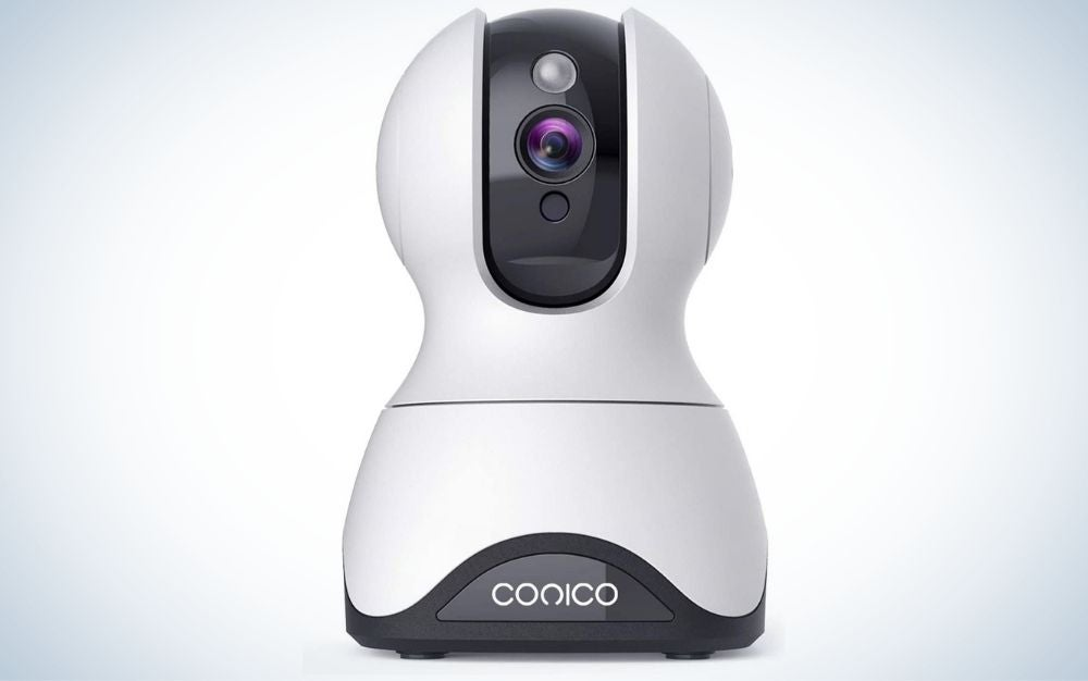 The Conico Security Camera features the best dog camera for clear communication.