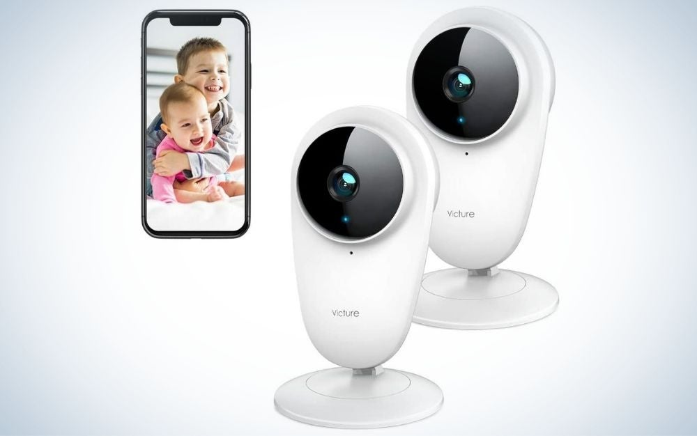 The Victure Video Baby Monitor boasts the best dog camera with a multi-camera system.