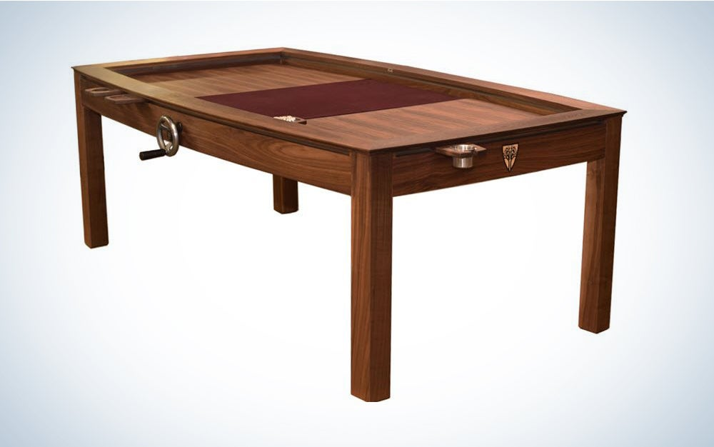 The Wyrmwood Prophecy is the best gagming table for a splurge.