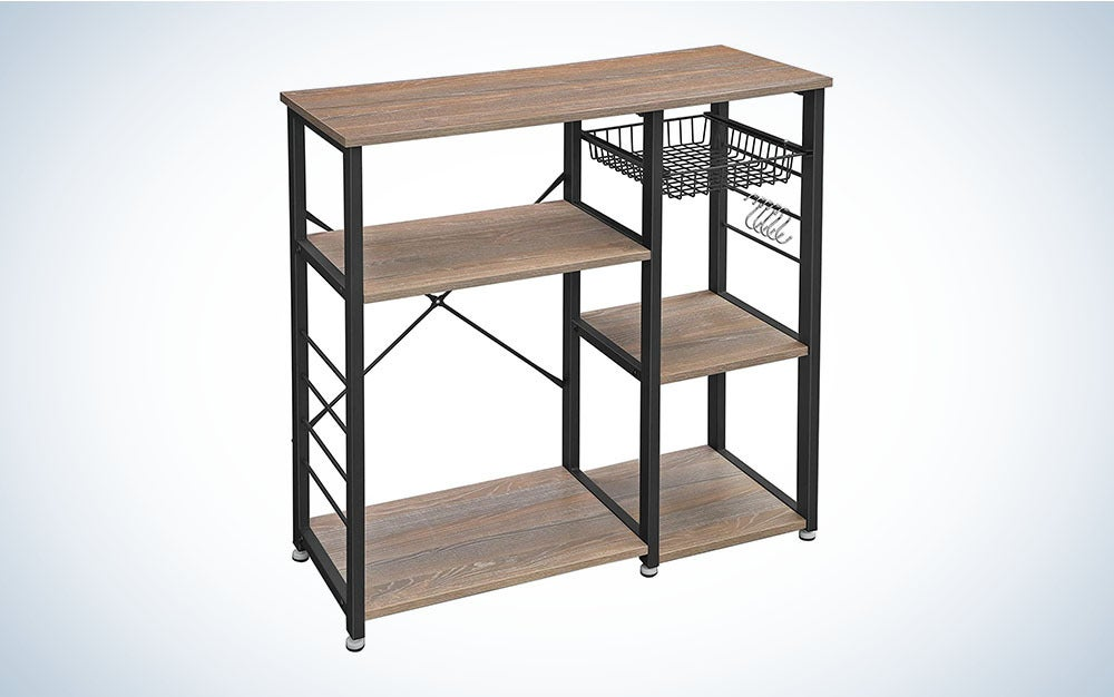 The VASAGLE ALINRU kitchen baker's rack is the best shelving deal on Amazon Prime Day.