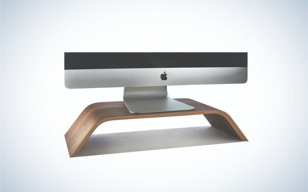 The Grovemade stand is the best computer monitor stand.