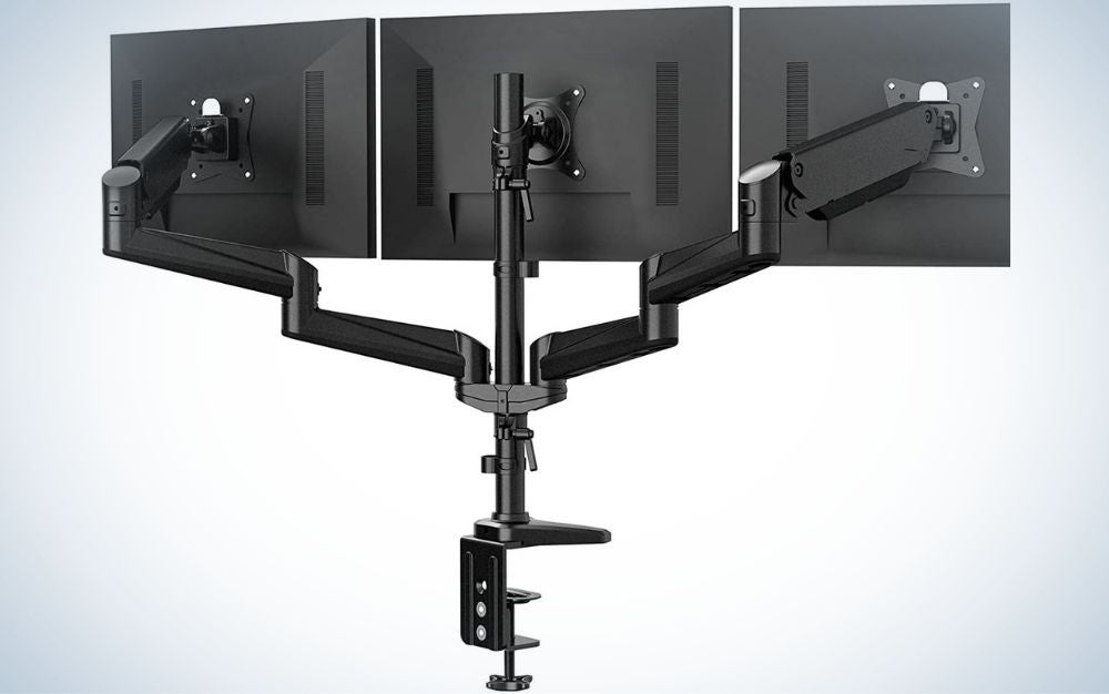 The Huanuo brand makes the best computer monitor stands.