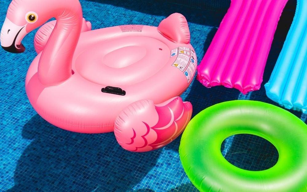 best pool float pink flamingo