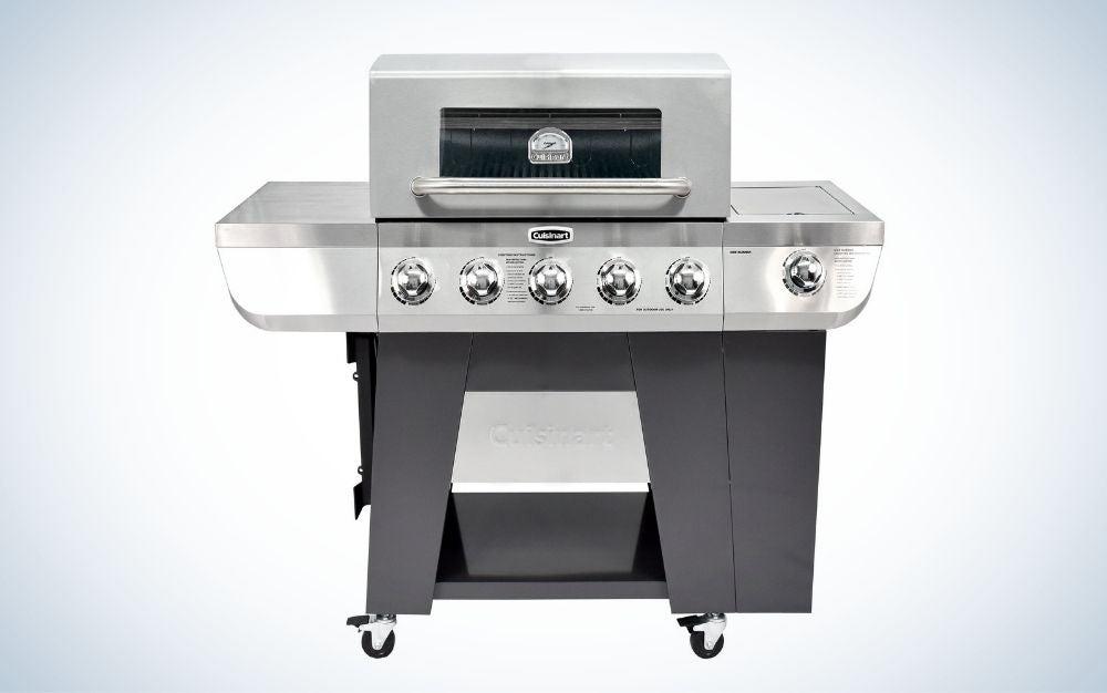 Cuisinart 3-in-1 will delight old-school grillers.