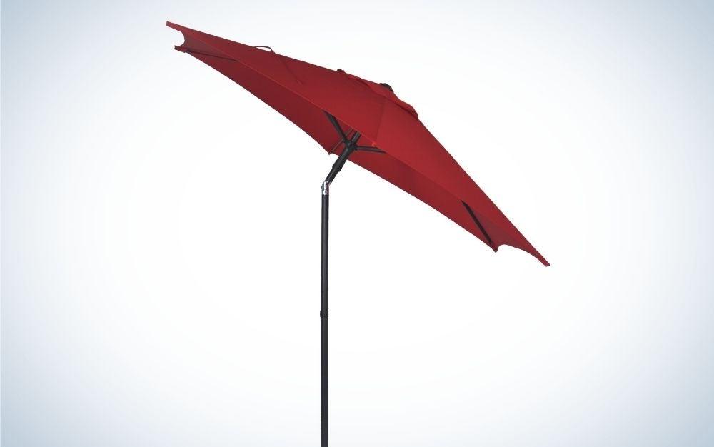 Beat the heat with Mainstays Patio Umbrella.