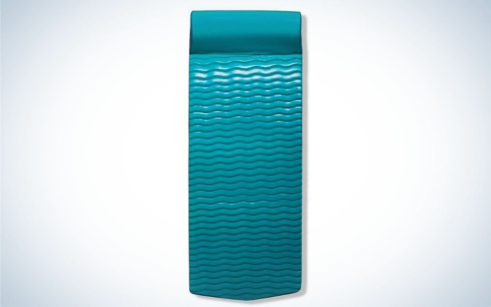 Sky blue frontage pool float