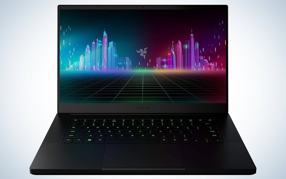 A Razer Blade 15, one of the best laptop deals for Amazon Prime day