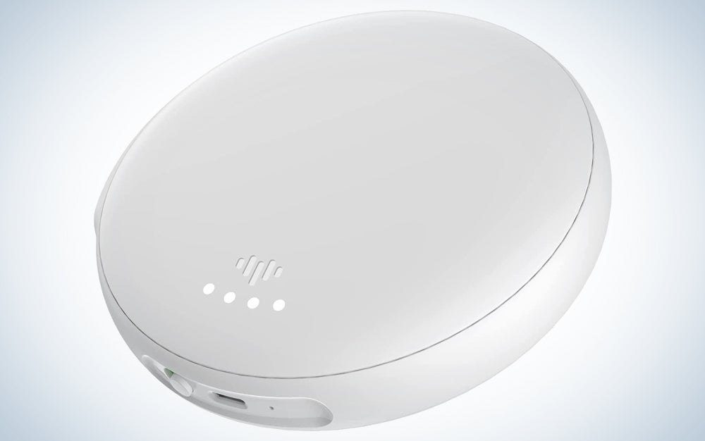 a white alarm bed shaker, one of the best deals online