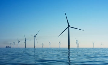 Here's how wind turbines stay afloat during storms
